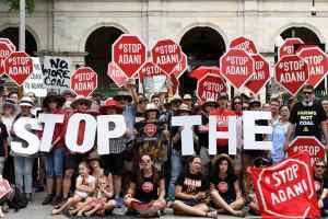 आस्ट्रेलिया में बढ़ रहा है अड़ानी का विरोध