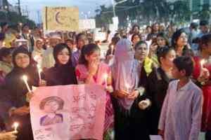भोपाल में विभिन्न संगठनों ने मांगा बेटियों के लिए न्याय