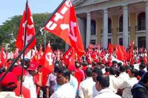 भाजपा राज के खिलाफ मजदूर वर्ग ने फूंका विद्रोह का बिगुल